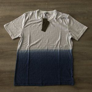 "Dior Men Monogram Blue&White T-Shirt ""L"""